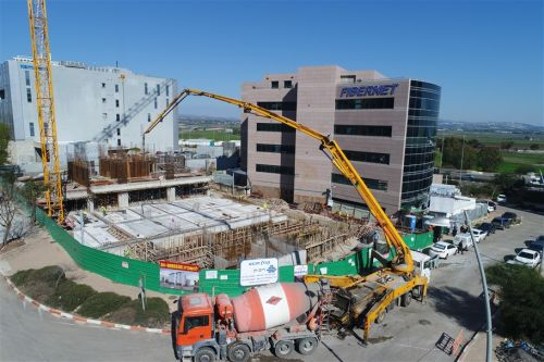 פייברנט הקמת מבנה משרדים