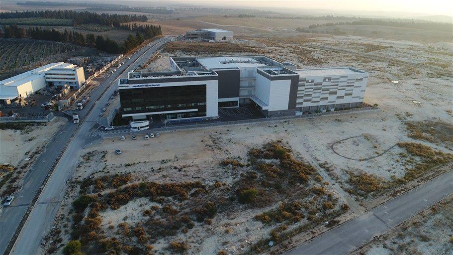 מפעל תרופות אוניפארם - אזור תעשייה מבוא כרמל